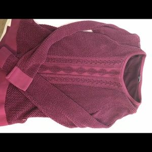 Lucky Brand purple sweater